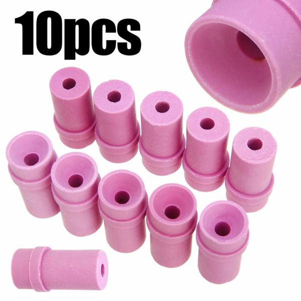 top popular 10Pcs 5 6 7mm Sandblaster Nozzles Air Siphon Sand Blasting Gun Ceramic Nozzle Tips Marble Engraving Power Tool Accessessories 2020