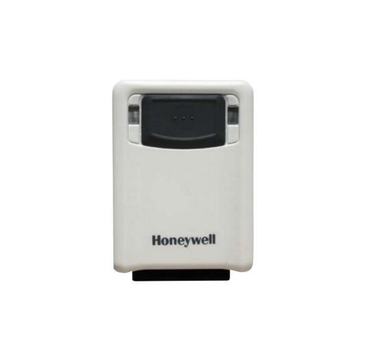 Honeywell 3320G 1D, PDF and 2D Hands-Free Area-imaging White Barcode Scanner Kits includes USB interfaces