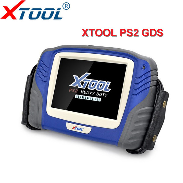 XTOOL Truck Diagnostic Tool PS2 Heavy Duty with Bluetooth Free Update Online X-TOOL PS2 Truck scanner OBD2 Scanner Free DHL ship