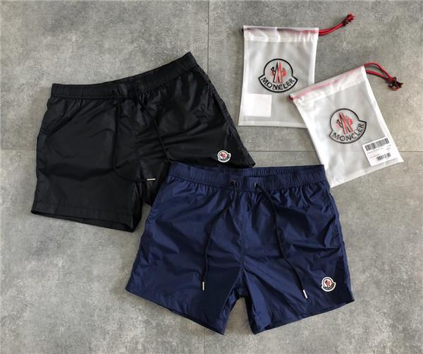 best selling 19ss MC Paris Mengkou Embroidery lHongkong Pants elastic waist track Trousers Men Women Casual sport Jogger Sweatpants Outdoor Shorts