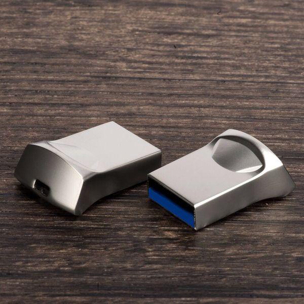 Popular U disk 32GB 64GB 128GB 256 USB 3.0 Metal Memory Stick USB 3.0 Finger Flash Drive Free Shipping
