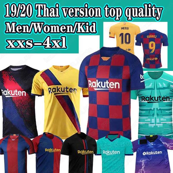 19 20 Thai FC Barcelona Fußball-Trikot messi DE JONG Griezmann camisetas de futbol 2019 2020 Maillot de foot Männer Kind Fußballhemd XXS-4XL