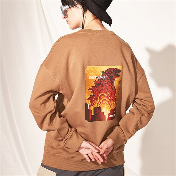 Wholesale Fashion Mens Womens Sweaters Designer Brand Animal Print O-Neck Pullover Sweatershirts Top Quality Free Shipping B101784V