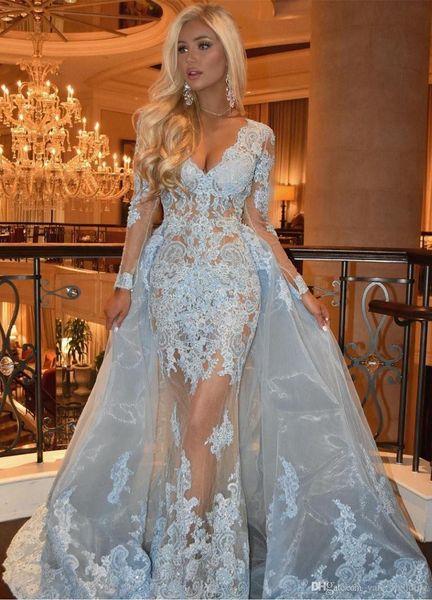 2019 New Sparkly Silver economici Mermaid Prom Dresses Halter collo lungo scollo a V High Side Split Party Wear Dress Dressed vestidos
