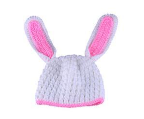 2019 fashion hot European and American long ear rabbit photography set hand-woven newborn baby photography props