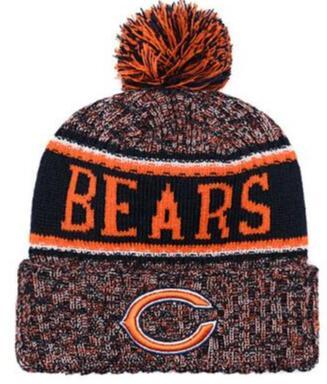 128606a85 Top Selling CHICAGO Beanie CHI Beanie Sideline Cold Weather Reverse Sport  Cuffed Knit Hat With Pom Winer Skull Cap 00 Bow Ties Are Cool Wooden Bow  Tie ...