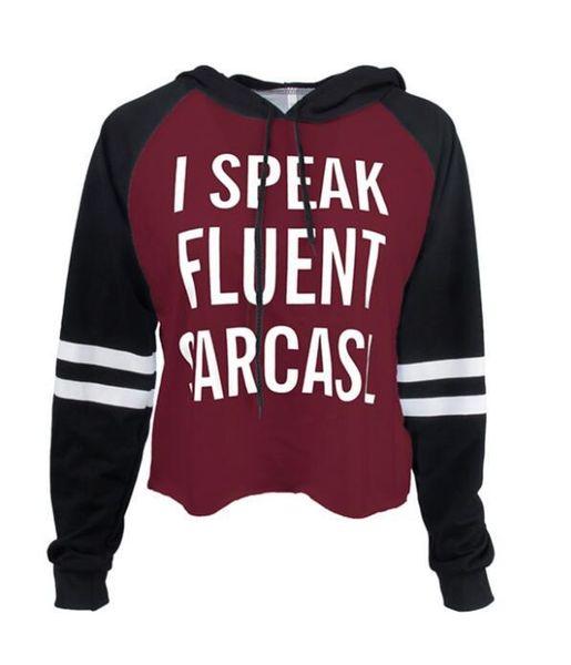 I speak 6 hoodies