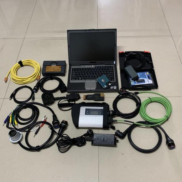 3in1 auto scanner vas5054a pour bmw icom a2 b c avec 2019.09v disque dur pour mb sd c4 étoile diagnostic compact4 avec ordinateur portable d630 4g ram