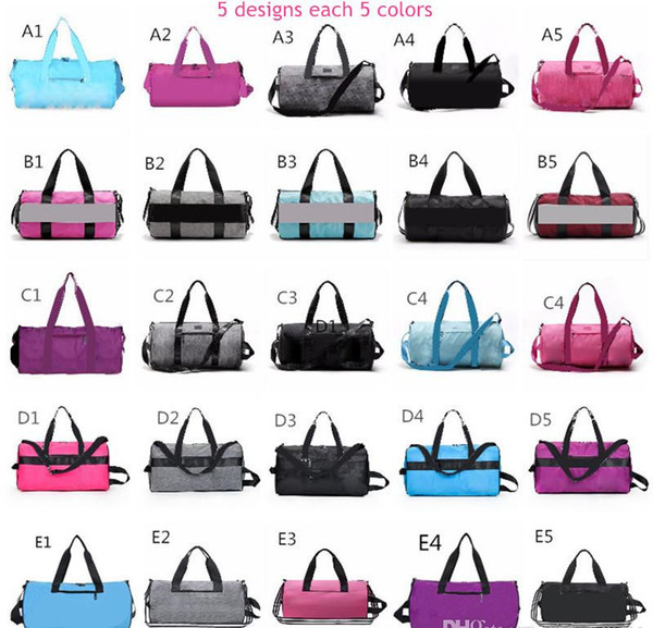 best selling Storage Bag Large Women Travel Duffel Bag Luggage Casual Beach Adult Exercise Fitness Yoga Bags Little Bags Inside Multicolors