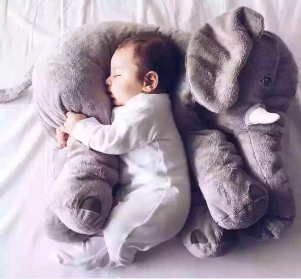 Новый слон фигурка серый слон плюшевые игрушки куклы куклы сопровождающие Спящая кукла