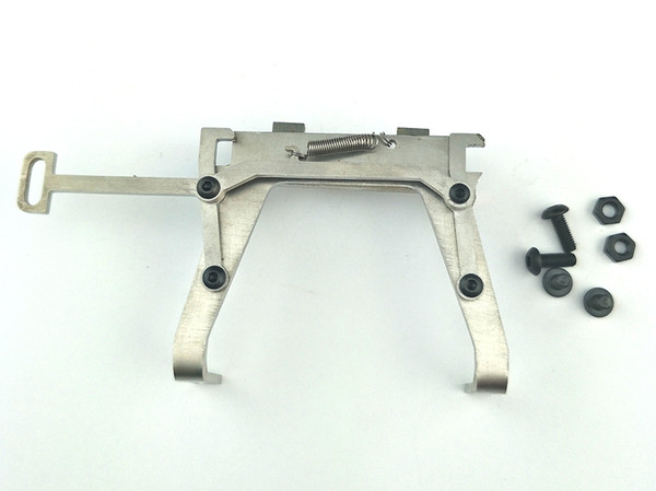 LNL Rc Replacement Metal Truck Front Buckle (Silver) for Tamiya 1/14 RC Tractor Truck Upgrade Parts