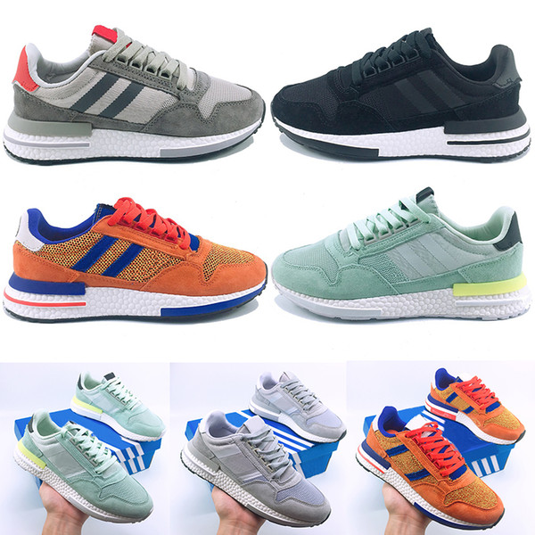 2019 2019 New Designers Dragon Ball ZX 500 RM Goku Shoe Limited Edition Super Light Men Women Running Shoes ZX500 Designer Luxury Sneaker Trainer From