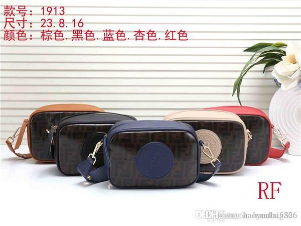 2020 GD Bester Preis-Qualitäts-Handtasche Tote Schulterrucksackbeutel Geldbeutelmappe RF1913