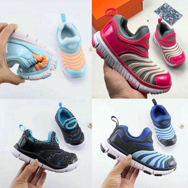 Spring 2019 winter sports shoes for children caterpillar shoes non-slip kids sports shoes high quality boy and girls sneakers