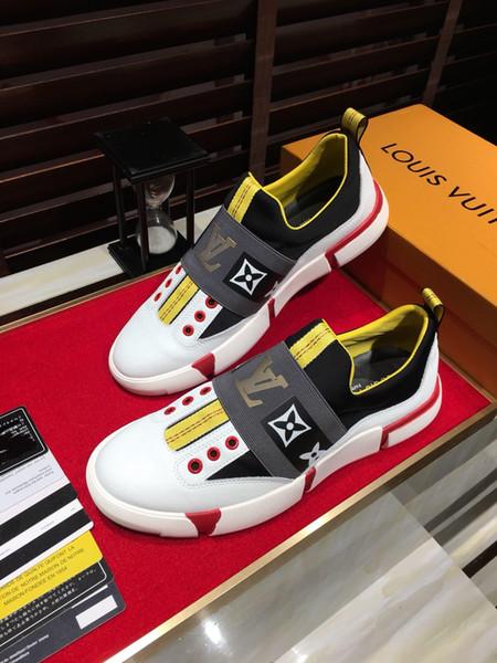 2019sss новая кожаная мужская повседневная спортивная обувь, модная универсальная о