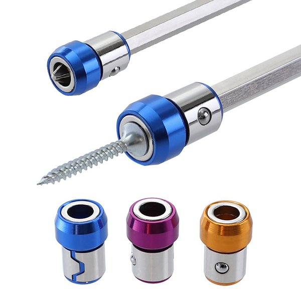 "1//4/"" Hex Shank Magnetic Drywall Screw Bit Holder Hex Shank Drill Screw Tool"