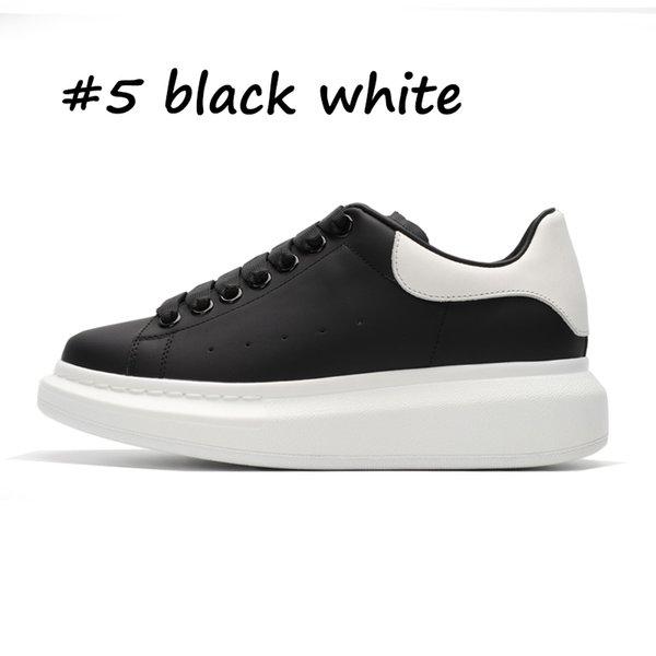 5 blanc noir