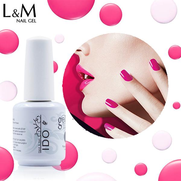 smalto base 1pc IDO polacco Soak Off 15ml Led Uv Gel per unghie Polish Base Top Nails Brands Gel Vernice per unghie