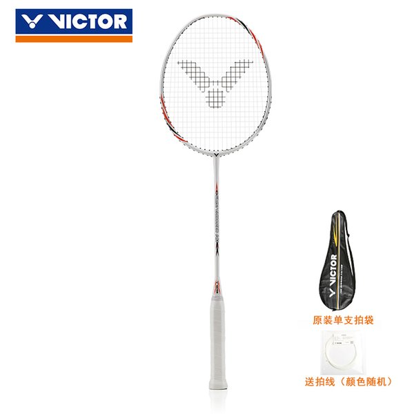 VICTOR/wicker badminton racket single shot carbon fiber amateur junior high school ball control wrist force WE140N