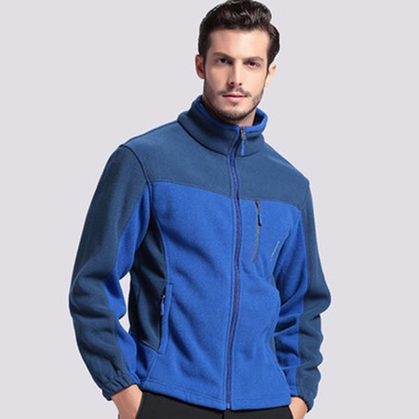 Nuevos hombres chaqueta de lana ejército táctico abrigo de invierno trinchera ejército polar ropa bolsillo casual térmica sudadera con capucha rompevientos