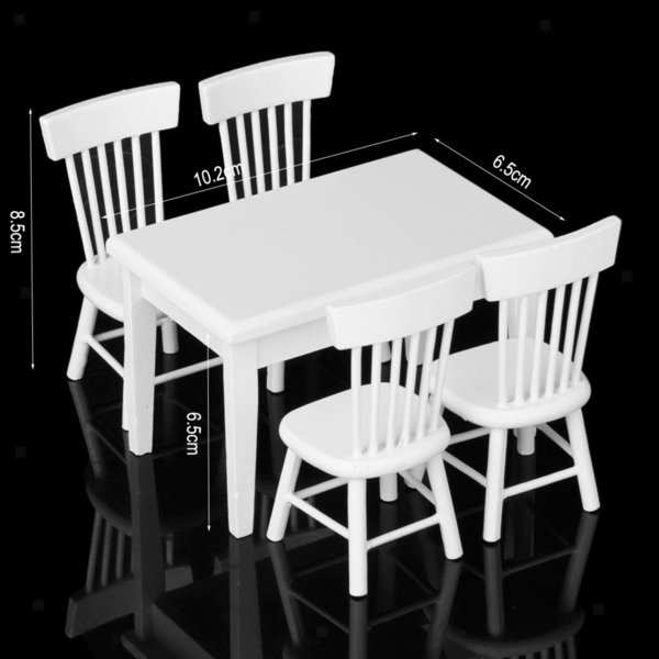 5pcs/set white
