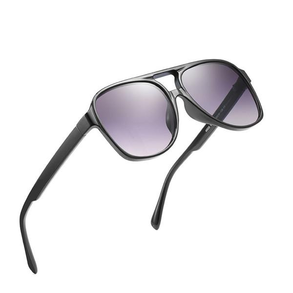 New fashion brand designer women sunglasses Europe and the United States fashion trend sunglasses big box sunglasses retro HD glasses