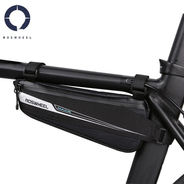 Roswheel Race Series 121444 Road Bike Bicycle Cycling Top Tube Front Frame Bag Triangle Bag Pannier Pack #79611