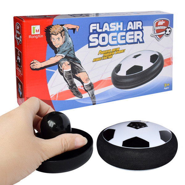Hover Ball LED Kids Air Power Soccer Football Children Toys LED Light Up Indoor Outdoor Disk Ball With Retail package