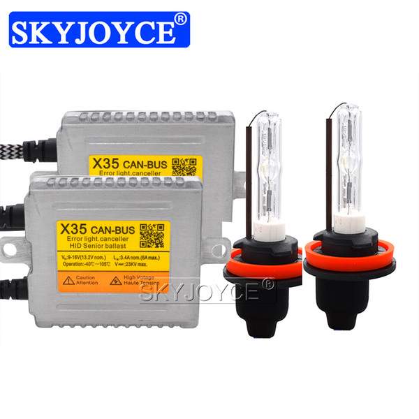 35W CNLIGHT CANBus Xenon Kit DLT X35 Canbus Fast Start HID Ballast Reactor 35W 4300K 6000K H1 H7 H11 D2H CNLIGHT Bola HID bulbo