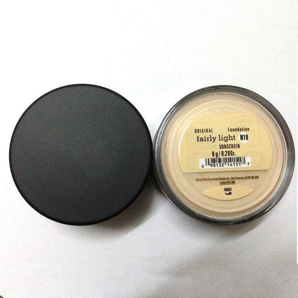 best selling Minerals Foundation original Foundation loose powder C10 fair 8g N10 fairly light 8g medium C25 8g medium beige N20 9g mineral veil Warmt