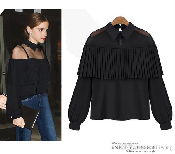 Fashion female elegant white blouses Chiffon peter pan collar casual shirt Ladies tops school blouse Women Plus Size