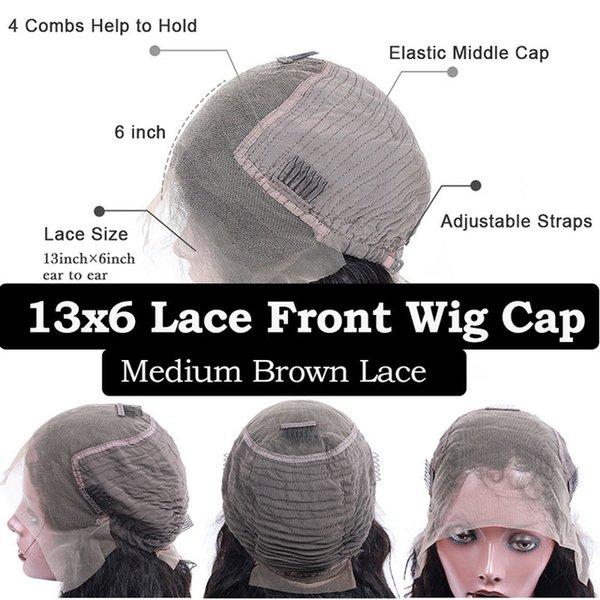 13x6 Lace Front Cap