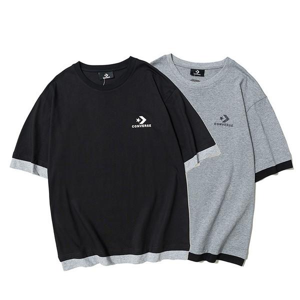 Erkekler son patlama trendi baskı modası acdc gömlek t-shirt erkekler shortame