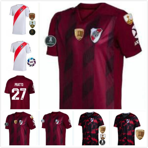 2019 River Plate third away Soccer Jerseys SCOCCO CASCO home QUINTERO AWAY RED PEREZ FERNANDEZ 19 20 FOOTBAL SHIRTS PRATTO Liberator finals