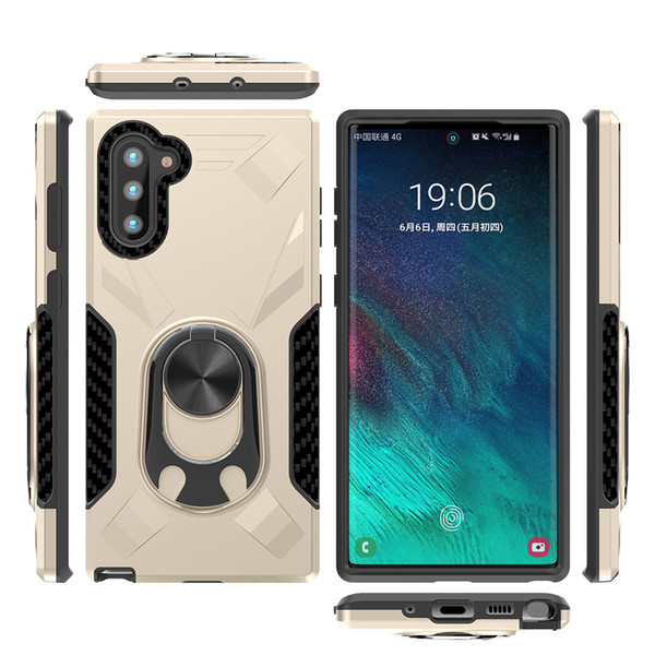 Custodia ibrida ad anello magnetico per montaggio su auto per Samsung Galaxy Note 10 plus Cover antiurto per iPhone 11 2019 6.1 6.5