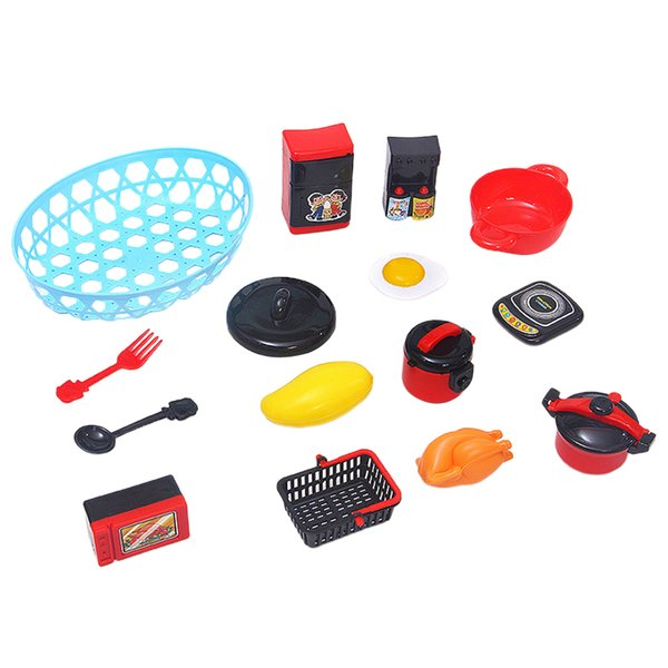 best selling Kitchen Play Food Set Cooking Pan Oven Home Kitchen Appliances Playset Toys