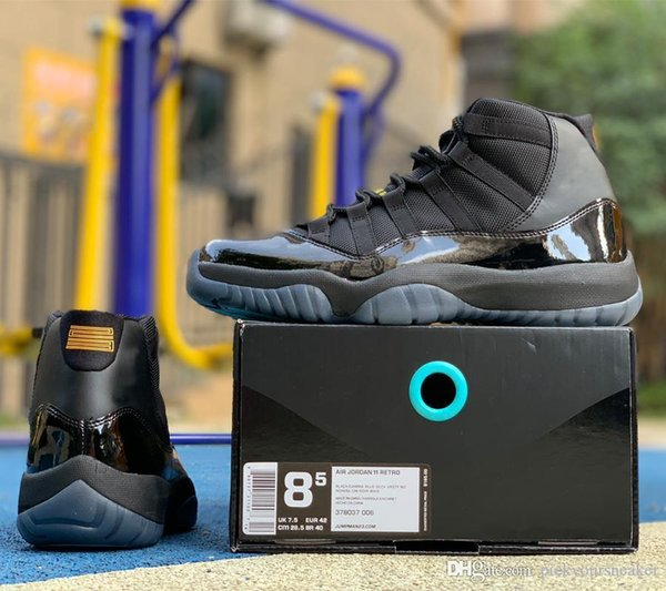 Gamma Blue Mens Basketball Shoes 11 11s Gamma Blue Trainers Athletics Men Women Designer Sports Running Shoes Sneakers Whosale 378037-006