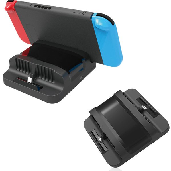 2 in 1 Nintend Switch Console Dual Charging Dock Station Stand Holder Storage Charging Charger For Nintendos Switch NS Console