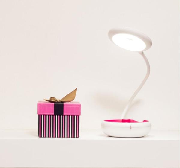 LED 5V USB Night Light Portable Mini Gift Charging Folding Reading Surprise Gift Portable LED Storage Eye Table Lamp