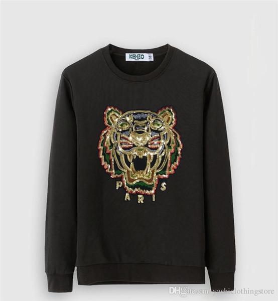 Rundhalsausschnitt Hoodie Neue Männer lässige Sportswear Streetwear Sweatshirt Druck Herren- und lange Ärmel Frauen