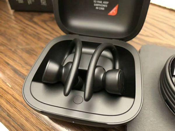 2019 New Power Pro écouteurs sans fil Bluetooth Mini casque avec chargeur Box Display Power TWS Casques d'écoute sans fil Chute Shiping