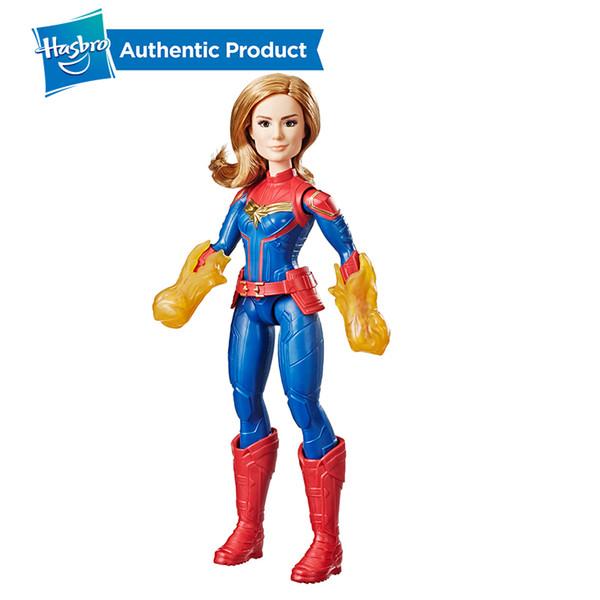 Capitán Marvel Movie Cosmic Super Hero Doll de 11.5 pulgadas Figura de acción inspirada en la película Girl Boy Toys con accesorio