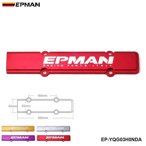 top popular EPMAN Engine Spark Plug Cover Red for Honda Acura Civic Integra DC2 B18 B16 B20 EP-YQG03HONDA 2021