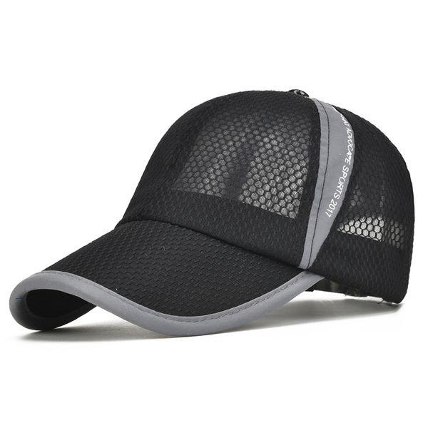 Summer Mesh Baseball Cap Adjustable Bone Snapback Hats For Man Women Outdoor Sunscreen cap peaked capBQ24