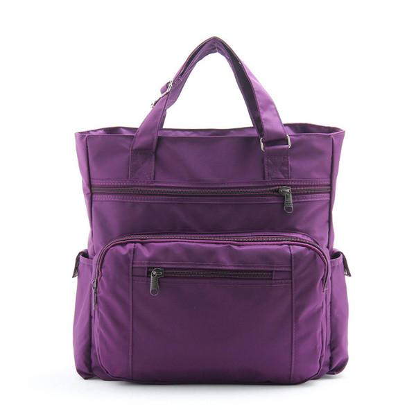 buona qualità 2019 nuove donne borse da viaggio grande capacità bagaglio borsone impermeabile nylon casual caramelle colore femminile borsa da viaggio