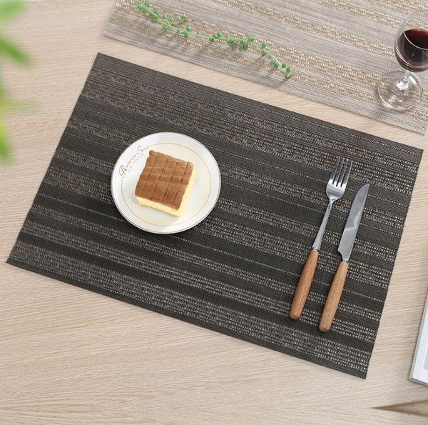 Acheter Teslin Set De Table Tisse Antiderapant Lavable Table Plat