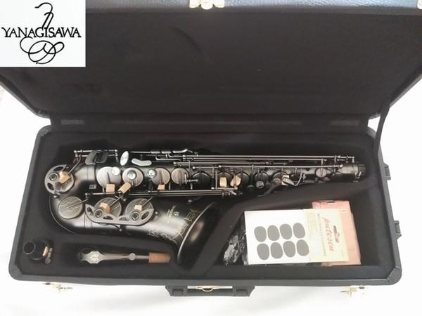 Qualidade Alto Saxofone Yanagisawa A-992 E-Flat Preto Sax Alto Bocal Da Ligadura Reed Pescoço Instrumento Musical Frete grátis