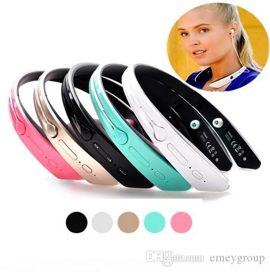 Wireless Bluetooth Headphones 4.0 Ecouteur Stereo Headset Neckband Earphones BM-170 Outdoor Sport with Microphone for iPhone LG