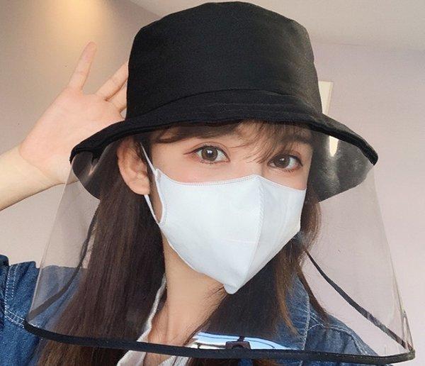 visage chapeau de protection