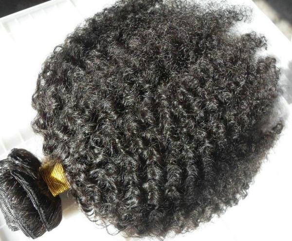 Высочайшее качество кудрявые вьющиеся волосы бразильские руки связаны утка человеческих волос 100 г свободный корабль